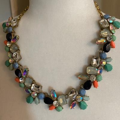 J. Crew Jewelry   Gorgeous J Crew Necklace. Euc!!   Color: Red   Size: Os