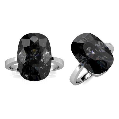 Damen-Ring mit Kristall: Gr. 52