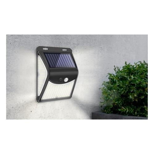 Solar-Lampe: Solar-Lampe mit 140 LEDs/ 1