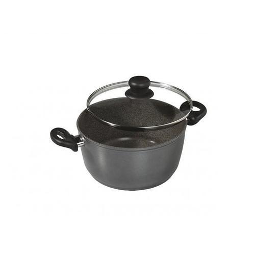 STONELINE Kochtopf, Aluminiumguss, (1 tlg.) schwarz Gemüsetöpfe Töpfe Haushaltswaren Kochtopf