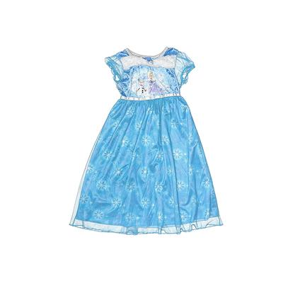 Disney Costume: Blue Floral Accessories - Size 5Toddler