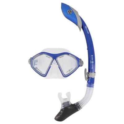 Aqua Lung Herren Schnorchel-Set TROOPER COMBO, blau, Gr. L