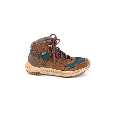 Merrell Boots: Brown Solid Shoes - Size 3
