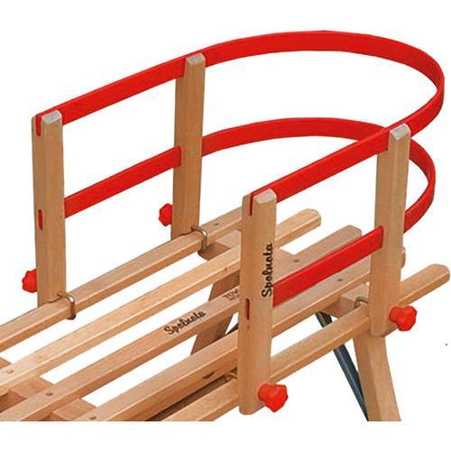 JAKO-O Rückenlehne für Holzschlitten, rot