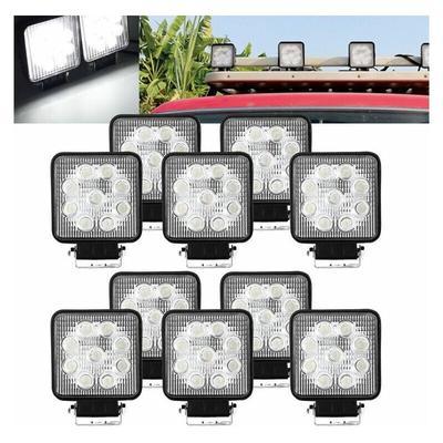 wolketon LED Arbeitsscheinwerfer, 12V / 24V Arbeitsscheinwerfer LED,Offroad Flutlicht