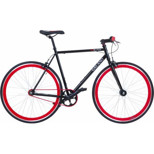 Galano Singlespeed Blade schwarz Damen Damenfahrräder Fahrräder Zubehör