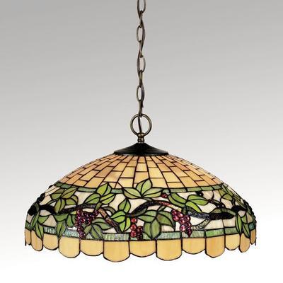 Grapevine Breeze Hanging Lamp Purple , Purple