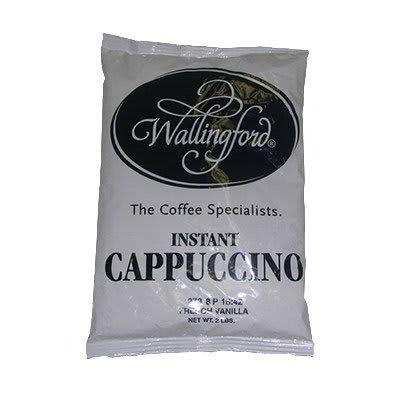 Gold Medal 7035 2 lb French Vanilla Cappuccino Mix, 6 Bags/Case