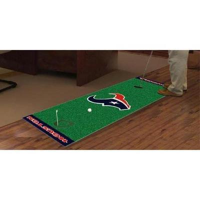 Fan Mats FAN-9013 Houston Texans NFL Putting Green Runner 18x72