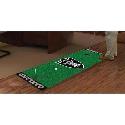 Fan Mats FAN-9024 Oakland Raiders NFL Putting Green Runner 18x72