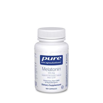 Pure Encapsulations Cellular Support - Melatonin 0.5 mg - 180 Capsules