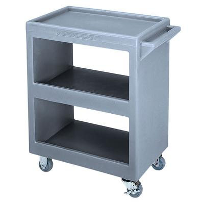 Cambro BC2254S191 3 Level Polymer Utility Cart w/ 350 lb Capacity, Raised Ledges