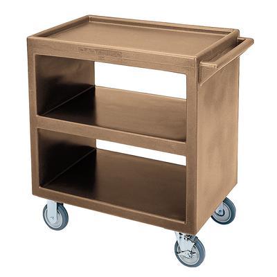 Cambro BC230157 3 Level Polymer Utility Cart w/ 500 lb Capacity, Raised Ledges