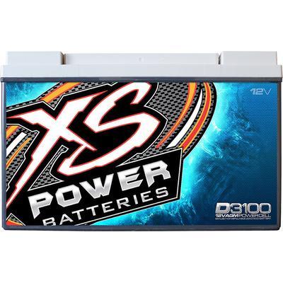 XS Power D3100 12V Bat Max 5k A CA:1565/Ah:127 4kW/5kW+
