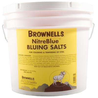 Brownells Nitreblue Bluing Salts - Nitreblue Bluing Salts 10lbs Bucket