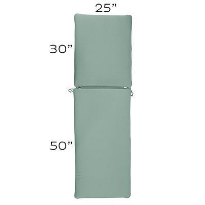Replacement Chaise Cushion - 25x80 Canvas Rust Sunbrella - Ballard Designs