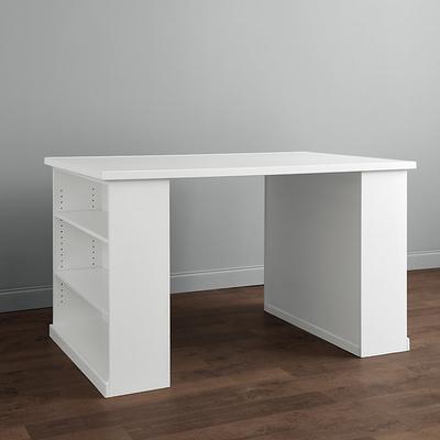 Wood Top - Craft Height Partners Desk - Ballard Designs