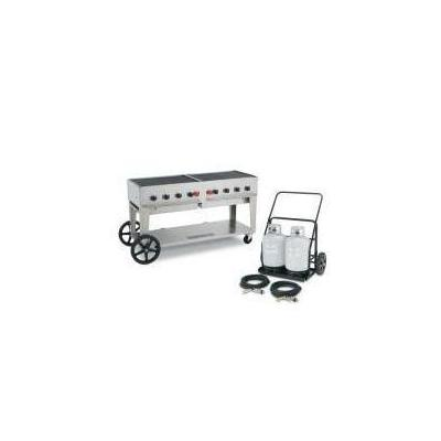 Crown Verity MCC- Mobil Charbroiler with Tank Cart