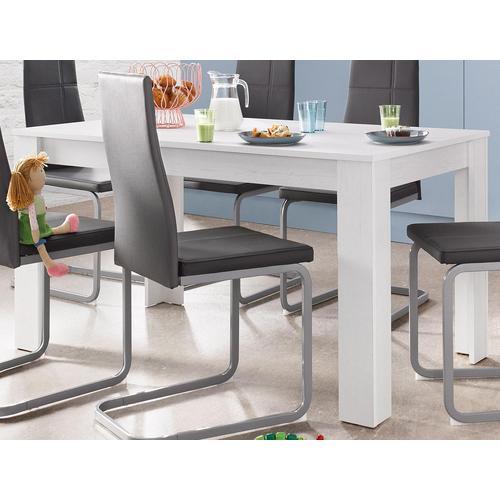 Homexperts Esstisch, Breite 140 cm weiß Esstisch Esstische Tische Möbel sofort lieferbar