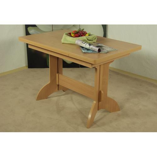 Esstisch Toledo, ausziehbar auf 170 cm beige Ausziehbare Esstische Tische