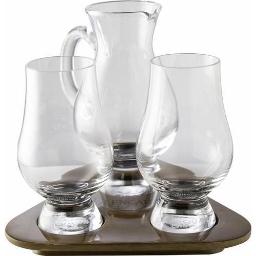 Stölzle Whiskyglas Glencairn Glass, (Set, 3 tlg.), 2 Gläser, 1 Krug auf Tablett farblos Kristallgläser Gläser Glaswaren Haushaltswaren