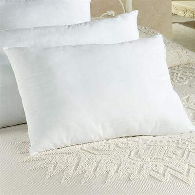 Restful Nights Sham Stuffer Pillow White, King Pair, White