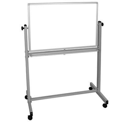 "Luxor MB3624WW Reversible Magnetic Whiteboard w/ Aluminum Frame, 36 x 24"""