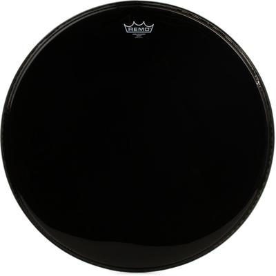 Remo Ambassador Ebony Bass Drumhead - 22 inch