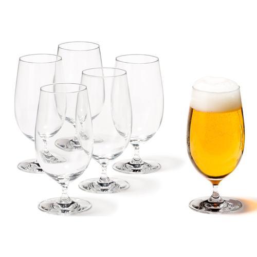LEONARDO Bierglas, (Set, 6 tlg.), 6-teilig farblos Gläser-Sets Gläser Glaswaren Haushaltswaren Bierglas