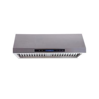 """Stainless Steel Under Cabinet Range Hood With 900 CFM 7"""" Round Duct Vent Exhaust Full Seamless Stain"""