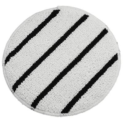 "Rubbermaid FGQ25700WH00 17"" Carpet Bonnet Floor Machine Pad for 175 RPM, White"