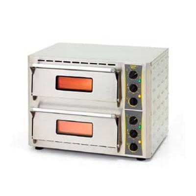 Equipex PZ-430D Countertop Pizza Oven - Single Deck, 208 240v/1ph
