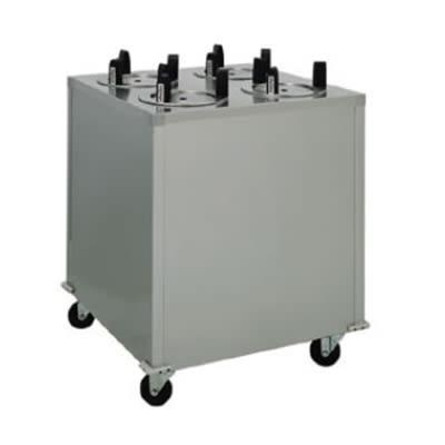"""Delfield CAB4-725 27"""" Mobile Dish Dispenser w/ (4) Columns, Stainless"""