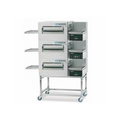 Lincoln 1180-3G 56 Triple Stack Gas Conveyor Oven Package Digital Controls