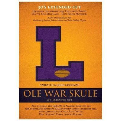 Ole War Skule: Stories of LSU Football - 1950s Director's Cut DVD