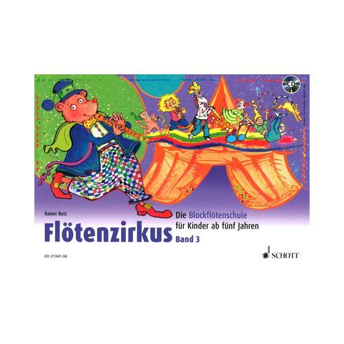 Schott Flötenzirkus 3 + CD