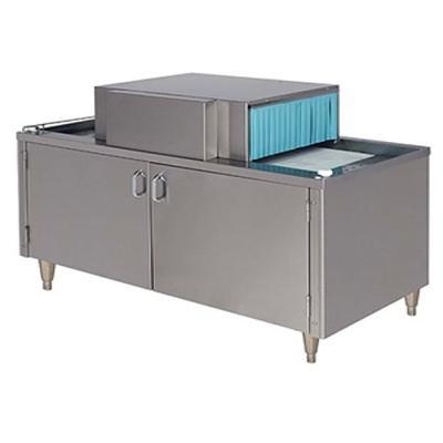 "Champion CG4 Straight Conveyor Glass Washer w/ Low Temp Chemical Sanitizing, 48"" Cabinet"