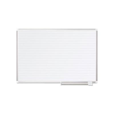 """Mastervision Ruled Planning Board, 48X36, White/silver (Bvcma0594830)"""