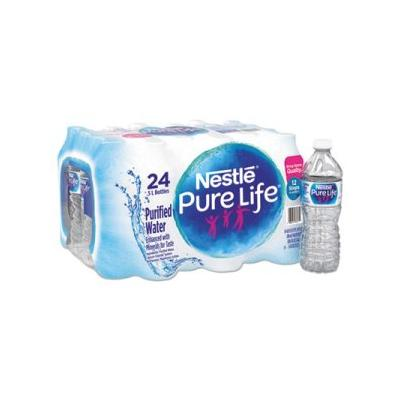 """Nestle Pure Life Water, 16.9 Oz Bottles, 24 Bottles (Nle101264)"""