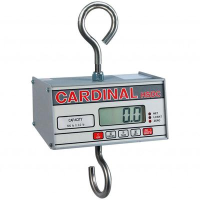 """Detecto HSDC-200 Hanging Scale w/ 1"""" Digital Readout, Battery Powered, 200 x 1/10 lb Capacity"""