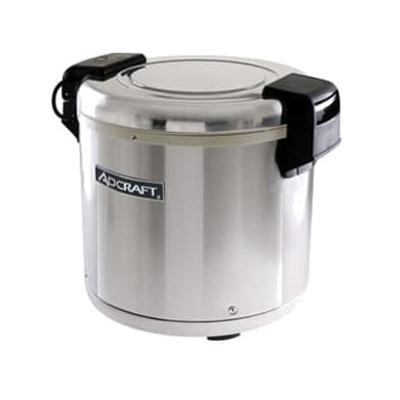 Adcraft RW-E50 Rice Warmer w/ 50 Cup Capacity & Removable Inner Pot, Stainless