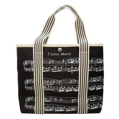 Music Sales Canvas Tote Bag Shee...