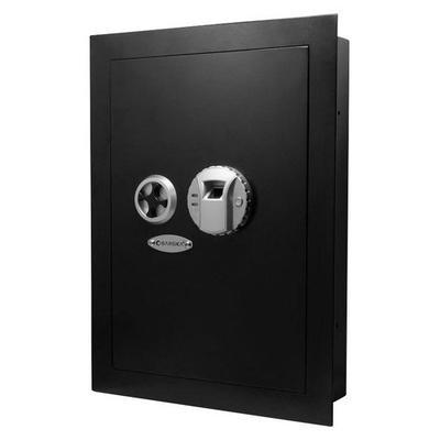 Barska Biometric Wall Safe - Black - AX12038