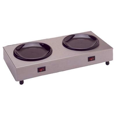 Bloomfield Double Warmer Coffee Hotplate - Stainless-Steel - 8852D