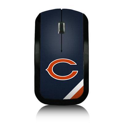 Chicago Bears Diagonal Stripe Wireless Mouse