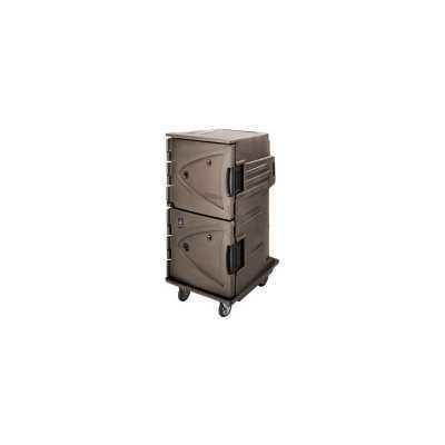 Cambro 125V Hot Cart With Celsius Thermostat (CMBH1826TSC194) - Granite Sand