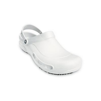 Crocs White Bistro Clog Shoes