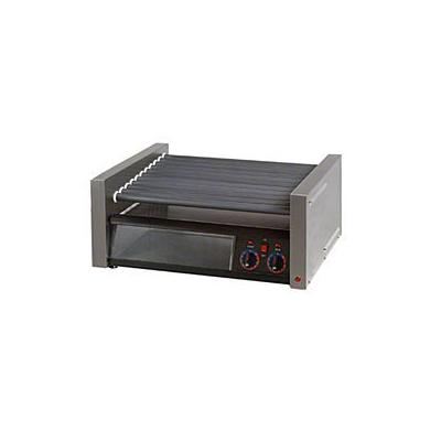 "Star Grill Max 36"" W Hot Dog Roller Grill With Duratec Non-Stick Rollers (50SCBBC) - Stainless Steel"