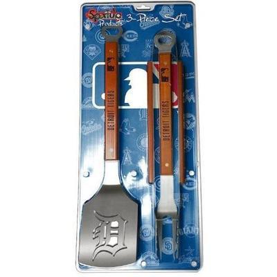Detroit Tigers 3-Piece Grill Accessories Set