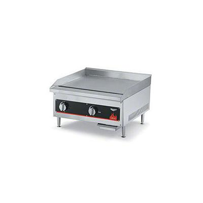 """Vollrath Cayenne Series 24"""" W Flat Top Griddle (40720) - Aluminized Steel"""